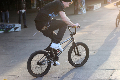 Bike Tricks For Beginners The BMX trick bike
